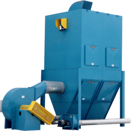 SBM closed modular dust collector
